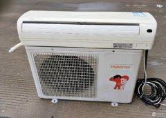 海尔空调制冷一会就自动停机